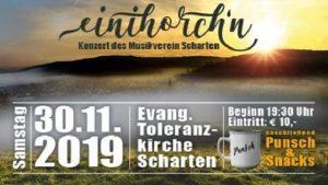 """Kirchenkonzert """"einihorch'n"""""""